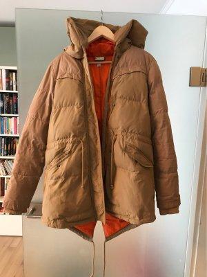 Adidas NEO Winterjack camel-oranje