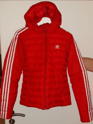 Adidas Originals Down Jacket red nylon