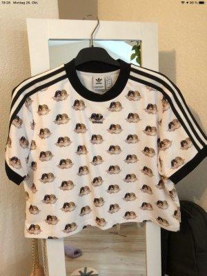 Adidas Basic topje wit-zwart