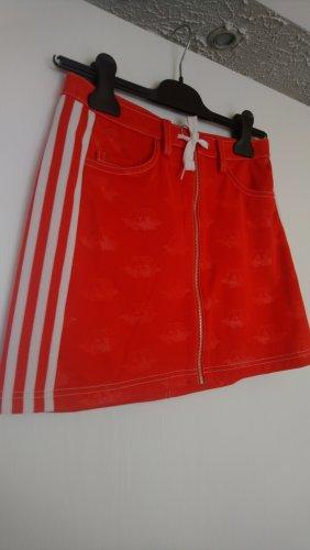 Adidas Spódnica mini czerwony