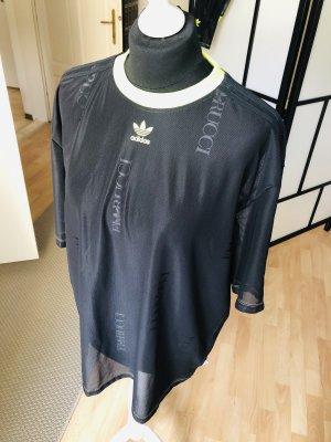 Adidas Top extra-large noir-jaune fluo