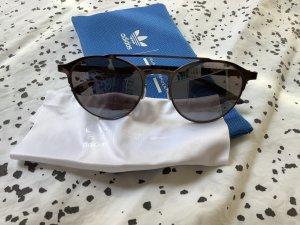 Adidas Gafas de sol redondas gris oscuro-gris pizarra metal