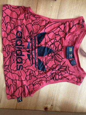 Adidas Cropped top veelkleurig Katoen