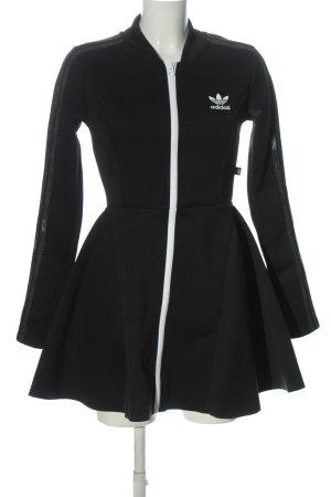 Adidas x Rita Ora Sukienka z długim rękawem czarny Nadruk z motywem