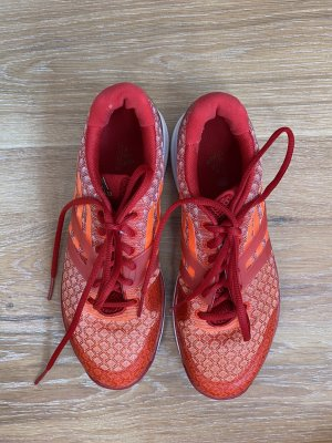 Adidas by Stella McCartney Lace-Up Sneaker red-orange
