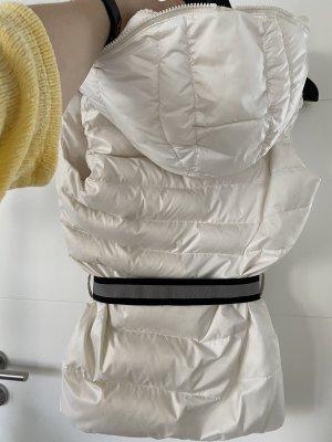 Adidas Piumino smanicato bianco-bianco sporco