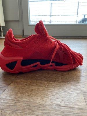 Adidas Y3 Zapatillas deslizantes rojo