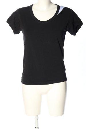 Adidas Y3 T-Shirt black-white casual look