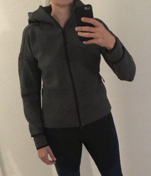 Adidas Chaqueta deportiva gris antracita-negro