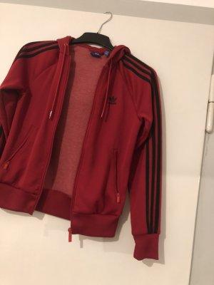 Adidas Sweat Jacket red-black