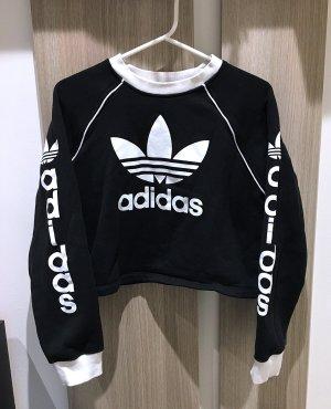 Adidas Oversized Sweater black-white