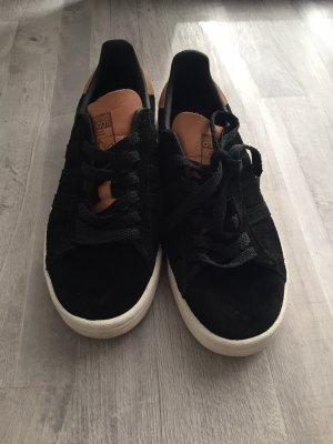Adiddas Sneaker, Schwarz, Gr. 37.5