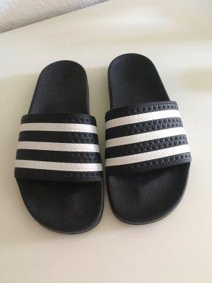 Adidas Beach Sandals black-white