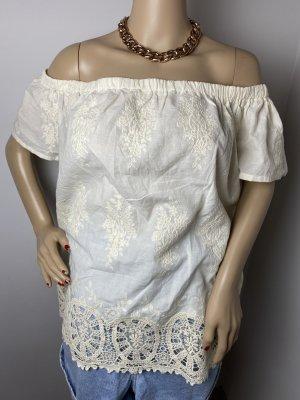 adiva gr xl spitzen oberteil beige sommer shirt damen bluse