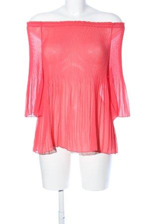 ADIVA Langarm-Bluse rot Casual-Look