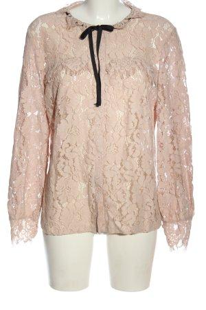ADIVA Langarm-Bluse pink Casual-Look