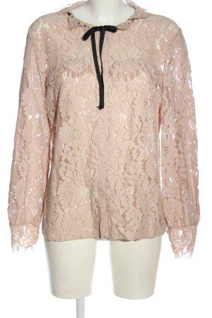 ADIVA Camicia a maniche lunghe rosa stile casual