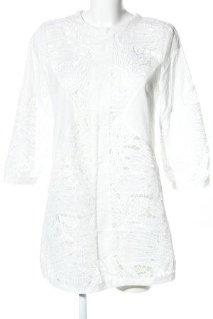 ADIVA Mini vestido blanco estampado floral look casual