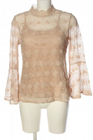 ADIVA Lace Blouse cream casual look