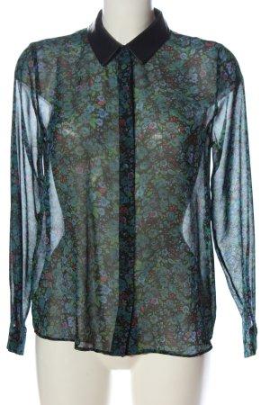 adl Camicia blusa stampa integrale stile casual
