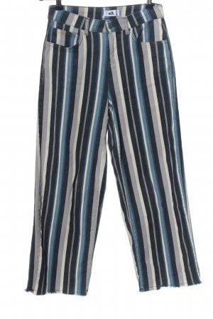adl High Waist Trousers striped pattern casual look