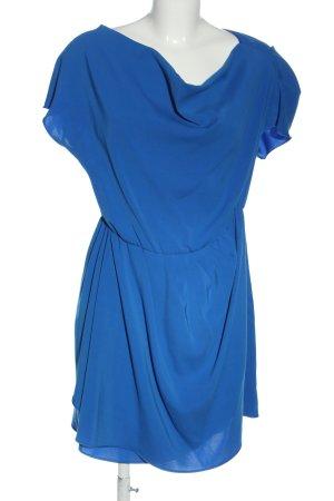 adl Abito a maniche corte blu stile casual