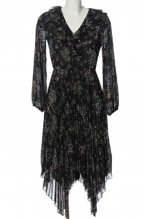 adl Longsleeve Dress flower pattern casual look