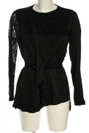 adl Long Blouse black casual look