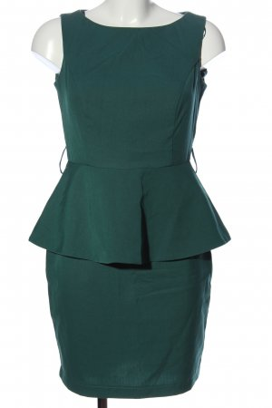 adl Peplum Dress green elegant
