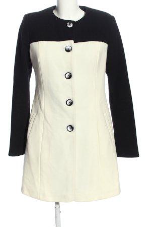 adl Cappotto invernale nero-bianco sporco stile professionale