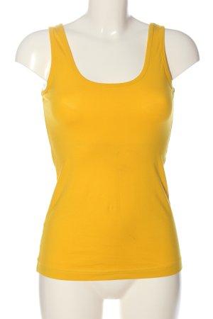 Adler Top basic giallo pallido stile casual