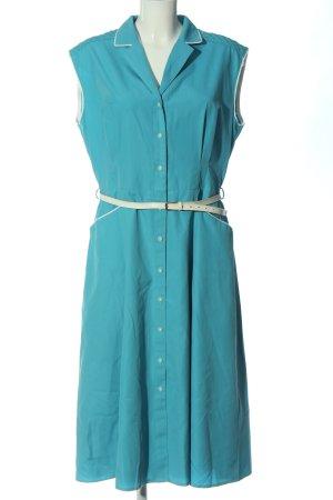 Adler Sukienka koszulowa turkusowy W stylu casual
