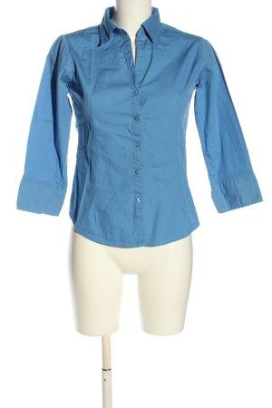 Adler Koszulowa bluzka niebieski W stylu biznesowym