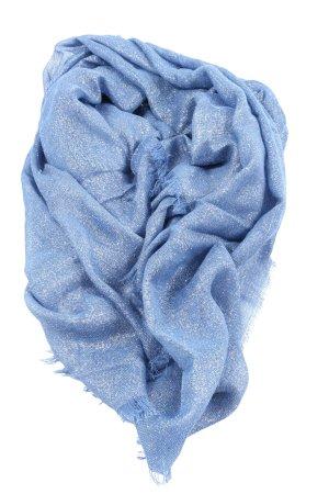 Adler Modemärkte AG Szal letni niebieski Melanżowy Ekstrawagancki styl