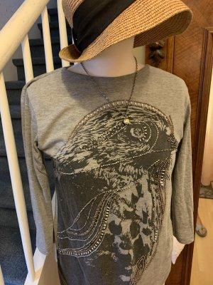 Kaffe T-shirt grigio-grigio chiaro
