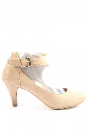adluum Mary Jane Pumps cream business style