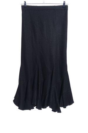 Admont Rozkloszowana spódnica czarny Elegancki