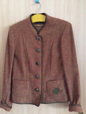 Admont Folkloristische jas roodbruin
