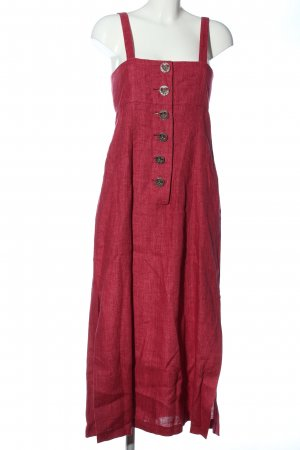 Admont Pinafore dress red flecked casual look