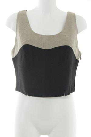 Admont Strappy Top black-beige