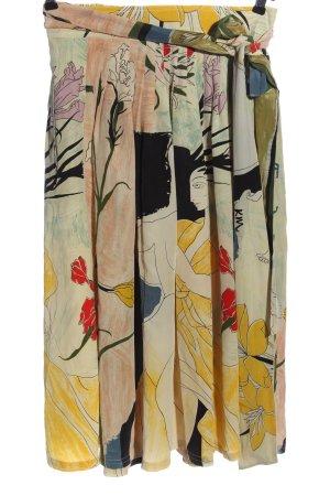 Admont Falda cruzada estampado con diseño abstracto elegante