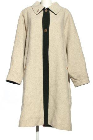 Admont Wool Coat cream-black flecked casual look