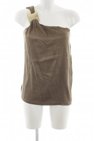 Adolfo Dominguez Sleeveless Blouse brown elegant