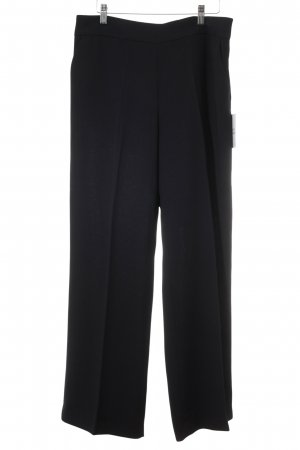Adolfo Dominguez Pleated Trousers dark blue business style
