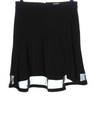 Adolfo Dominguez Rozkloszowana spódnica czarny W stylu casual