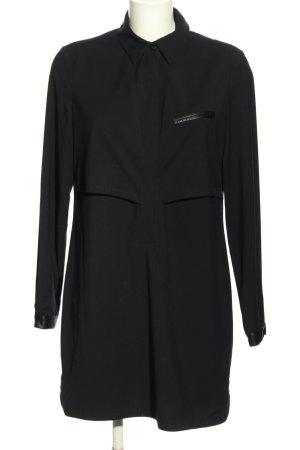 Adolfo Dominguez Hemdblusenkleid schwarz Elegant
