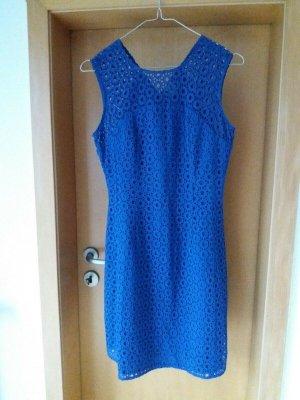 Adolfo Dominguez Letnia sukienka niebieski