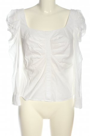 Adolfo Dominguez Long Sleeve Blouse white casual look