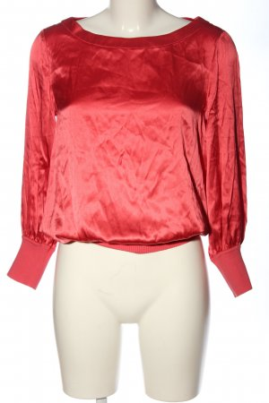 Adolfo Dominguez Long Sleeve Blouse red casual look