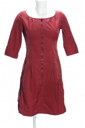 Adolfo Dominguez Longsleeve Dress red casual look